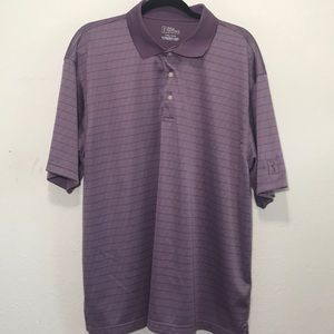 PGA Tour Mens Golf Purple Polo Shirt Summer Sz XXL